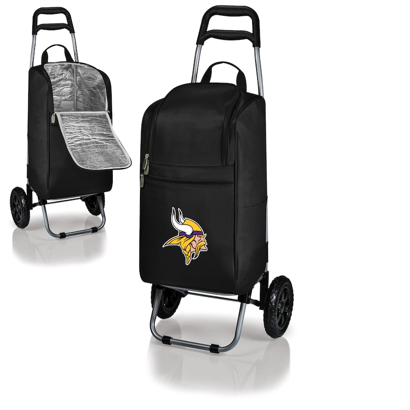 Minnesota Vikings Cart Cooler - Black