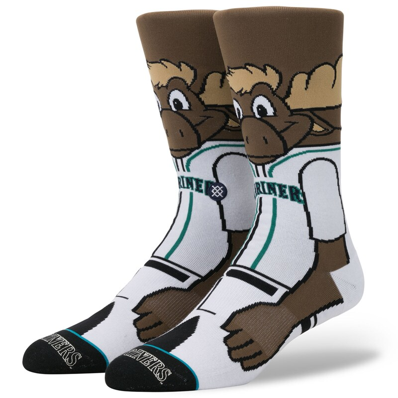 Seattle Mariners Stance Mascot Crew Socks