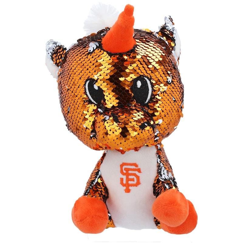 FOCO San Francisco Giants 9'' Sequin Unicorn Plush Toy