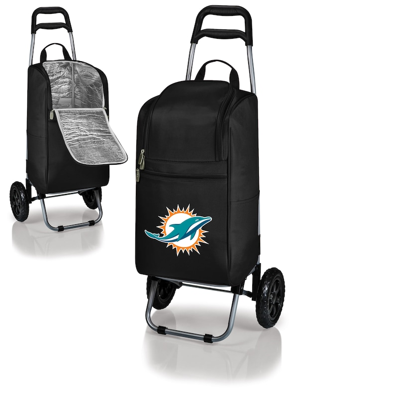 Miami Dolphins Cart Cooler - Black -