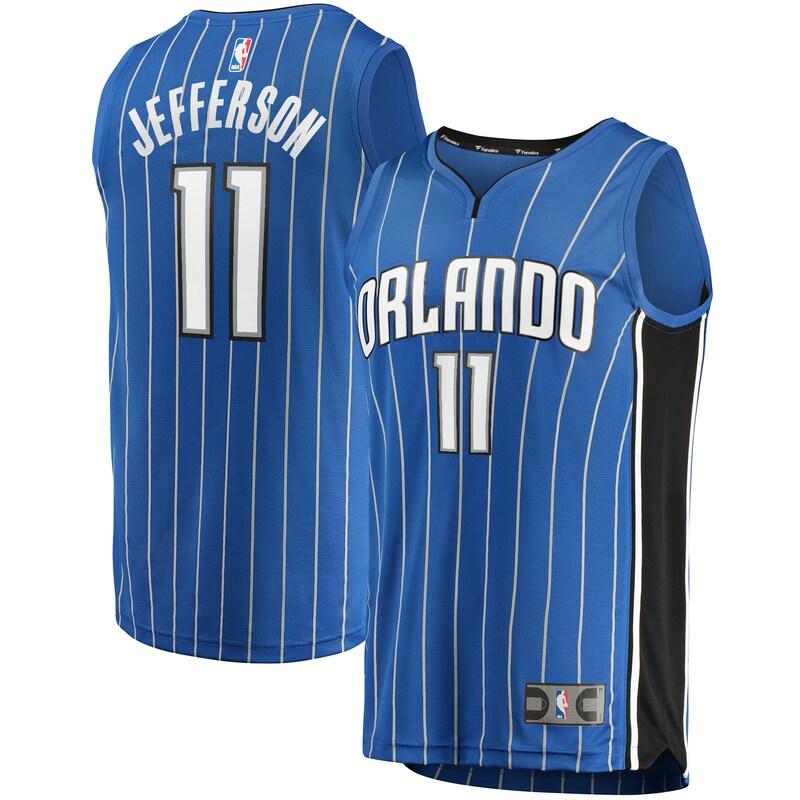 Amile Jefferson Orlando Magic Fanatics Branded Youth Fast Break Replica Player Jersey - Icon Edition - Blue