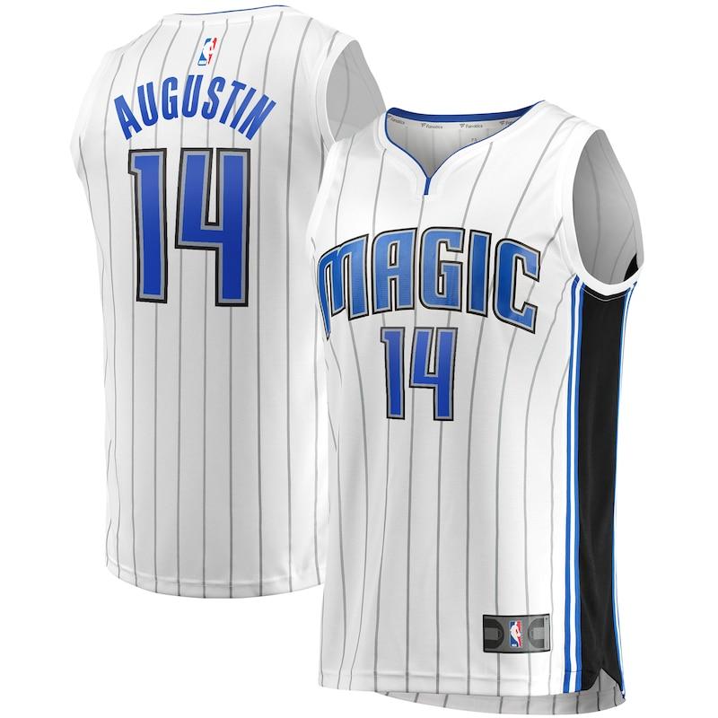 DJ Augustin Orlando Magic Fanatics Branded Fast Break Replica Player Team Jersey - Association Edition - White