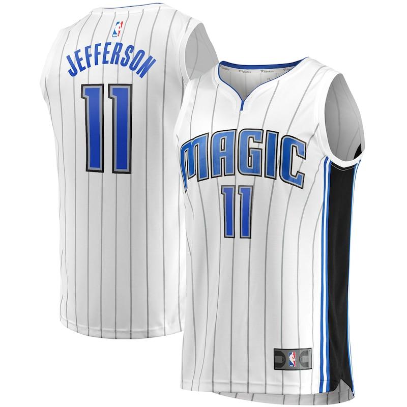 Amile Jefferson Orlando Magic Fanatics Branded Fast Break Replica Player Team Jersey - Association Edition - White