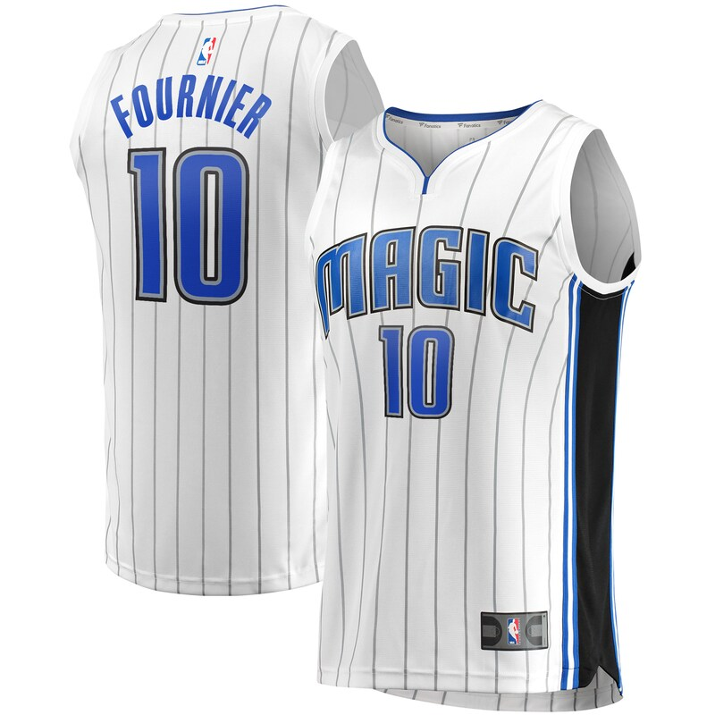 Evan Fournier Orlando Magic Fanatics Branded Youth Fast Break Replica Player Jersey - Association Edition - White
