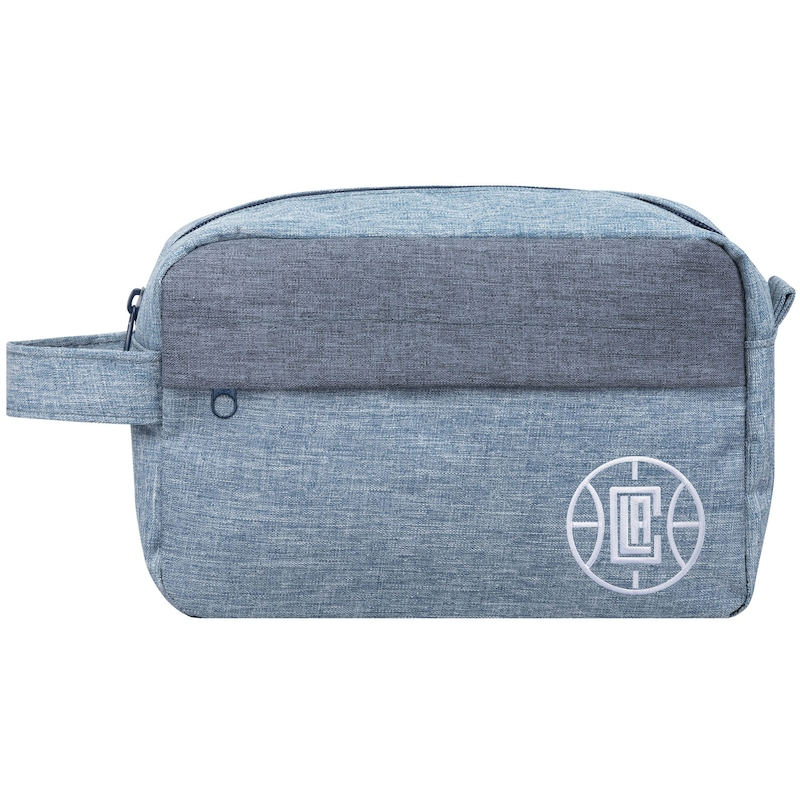 LA Clippers Chambray Travel Toiletry Bag