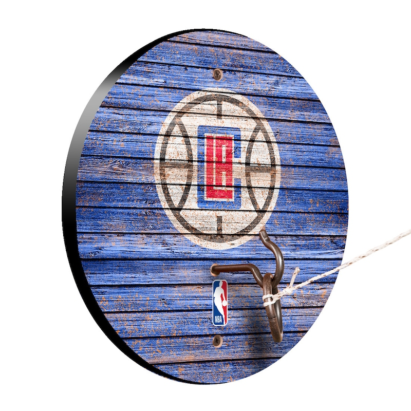LA Clippers Weathered Design Hook and Ring Game