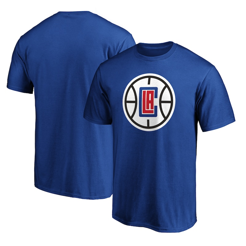 LA Clippers Fanatics Branded Primary Team Logo T-Shirt - Royal