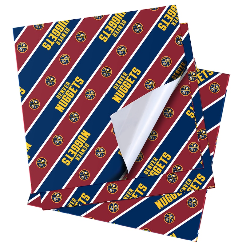 Denver Nuggets Folded Wrapping Paper