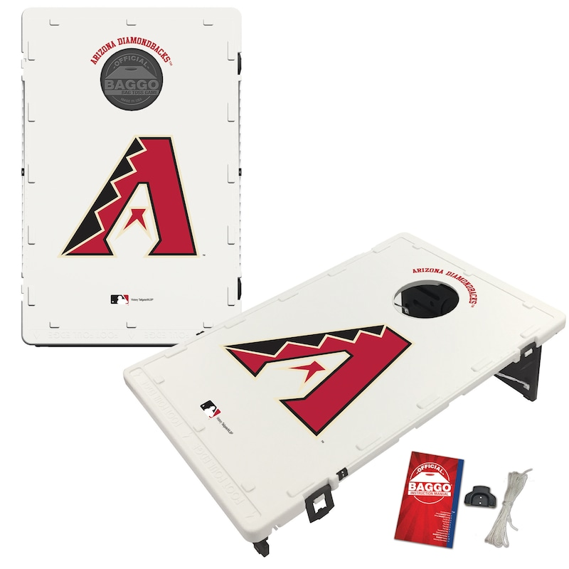 Arizona Diamondbacks 2' x 3' BAGGO Classic Cornhole Board Tailgate Toss Set