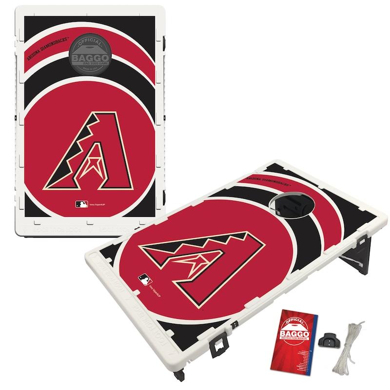 Arizona Diamondbacks 2' x 3' BAGGO Vortex Cornhole Board Tailgate Toss Set