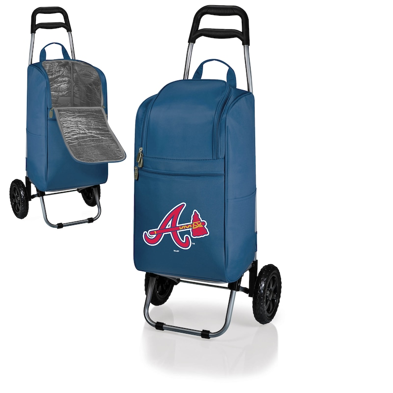 Atlanta Braves Cart Cooler - Navy -