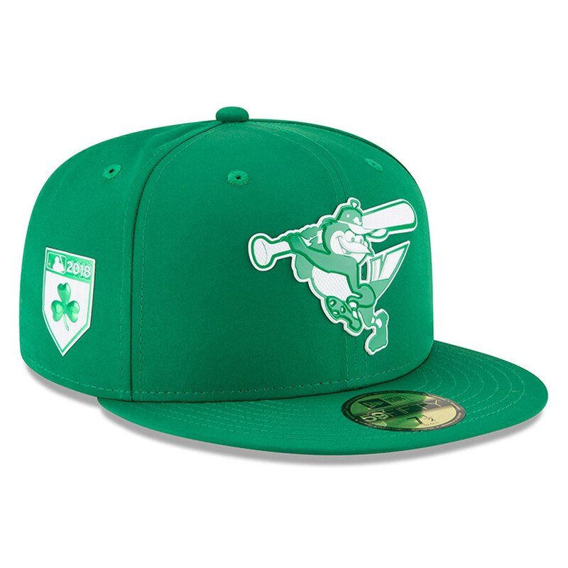 Baltimore Orioles New Era 2018 St. Patrick's Day Prolight 59FIFTY Performance Fitted Hat - Green