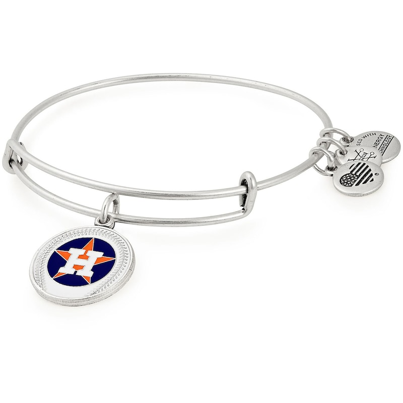 Houston Astros Alex & Ani Women's Stack Bracelet