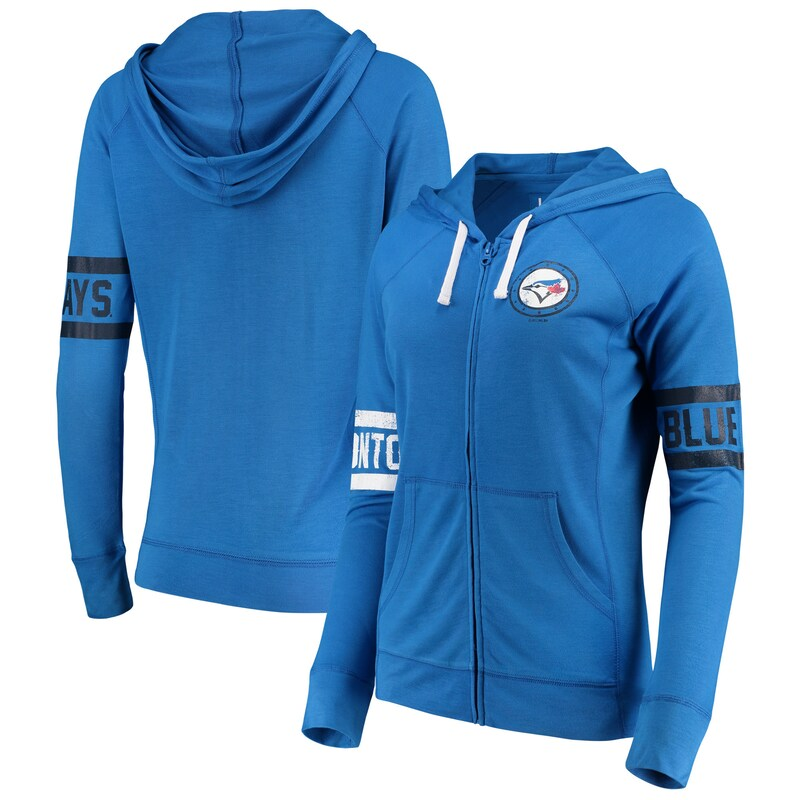 Toronto Blue Jays Touch by Alyssa Milano Women's Postseason Hoodie - Royal