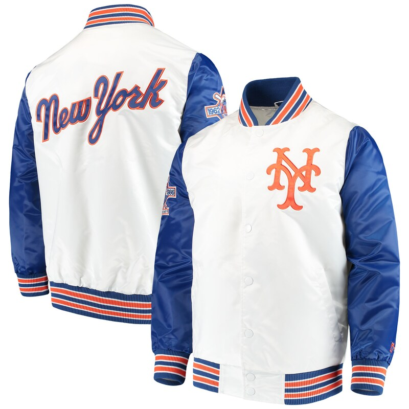 New York Mets Starter The Legend Jacket - White