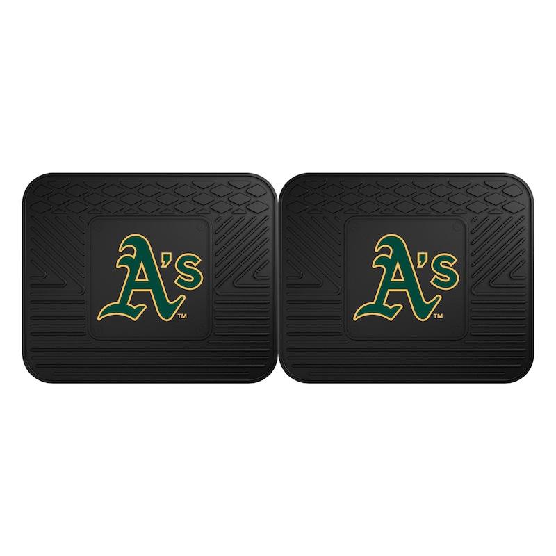 Oakland Athletics 2-Pack Utility Mat Set
