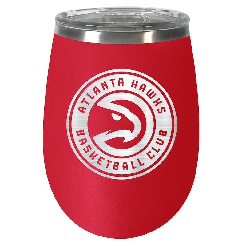 Atlanta Hawks 12oz. Team Colored Wine Tumbler