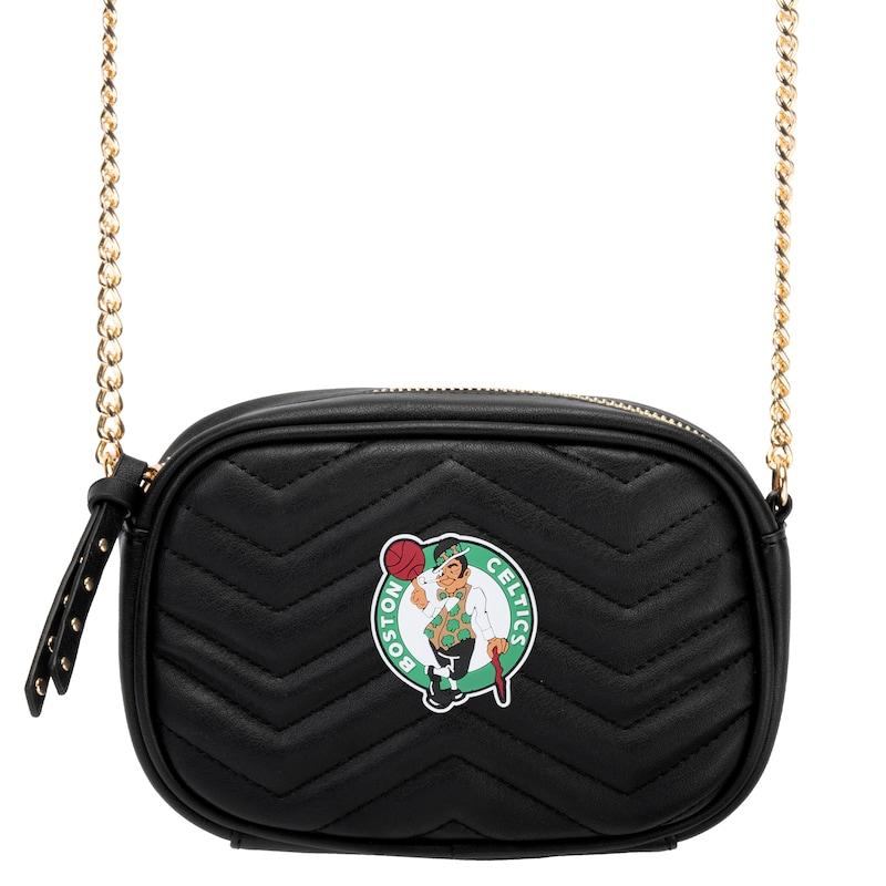 Boston Celtics Women's Crossbody Bag - Black