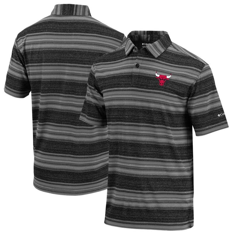 Chicago Bulls Columbia Slide Polo - Black