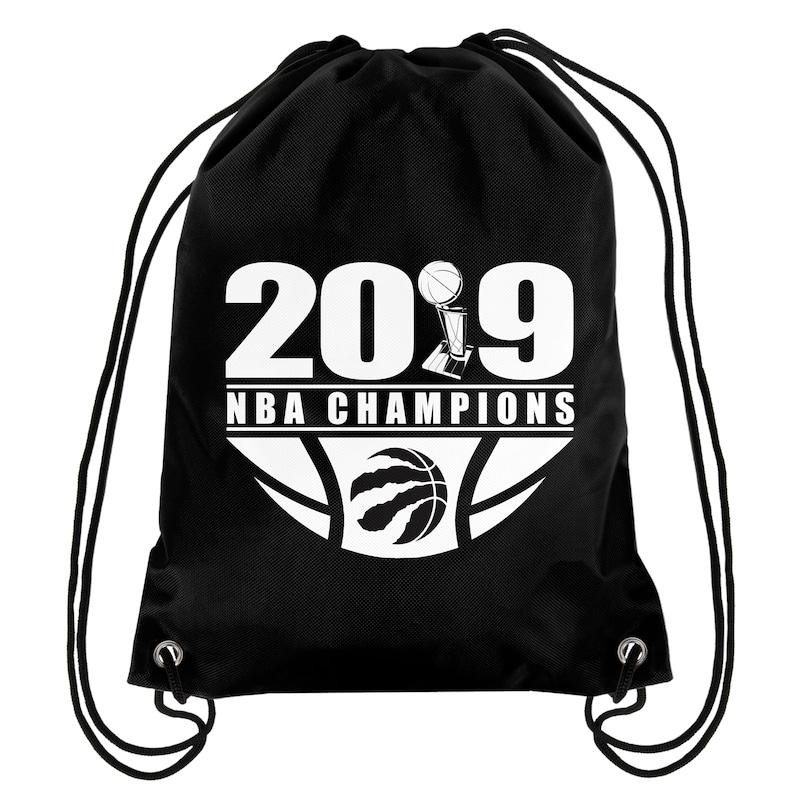 Toronto Raptors 2019 NBA Finals Champions Drawstring Backpack