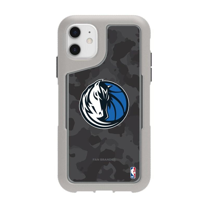 Dallas Mavericks Griffin Survivor Endurance Camo iPhone Case - Gray