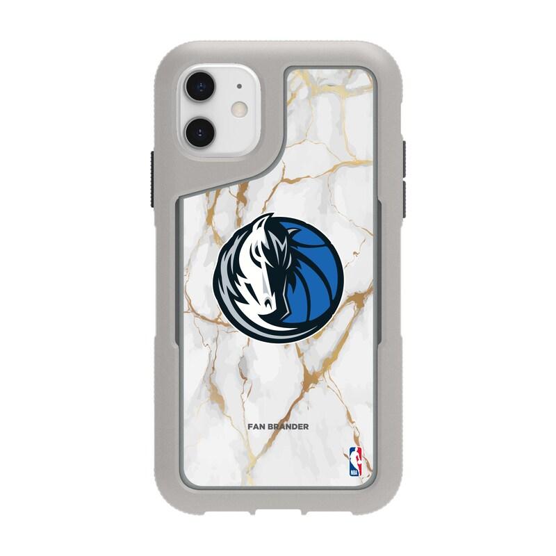 Dallas Mavericks Griffin Survivor Endurance Marble iPhone Case - Gray