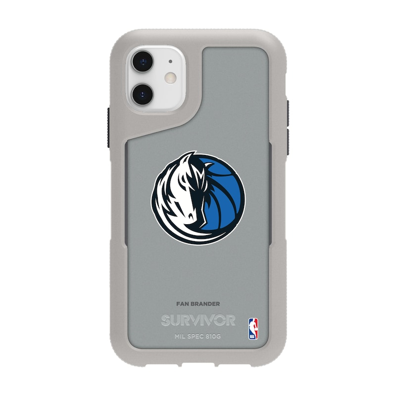 Dallas Mavericks Griffin Survivor Endurance iPhone Case - Gray