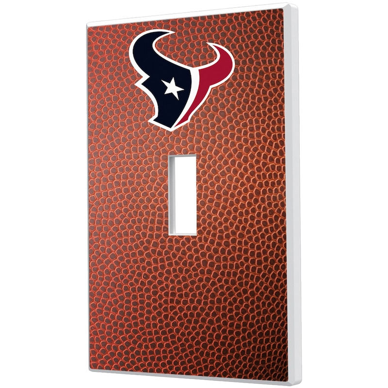 Houston Texans Football Design Single Toggle Light Switch Plate