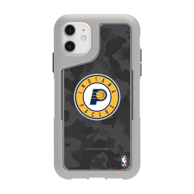 Indiana Pacers Griffin Survivor Endurance Camo iPhone Case - Gray