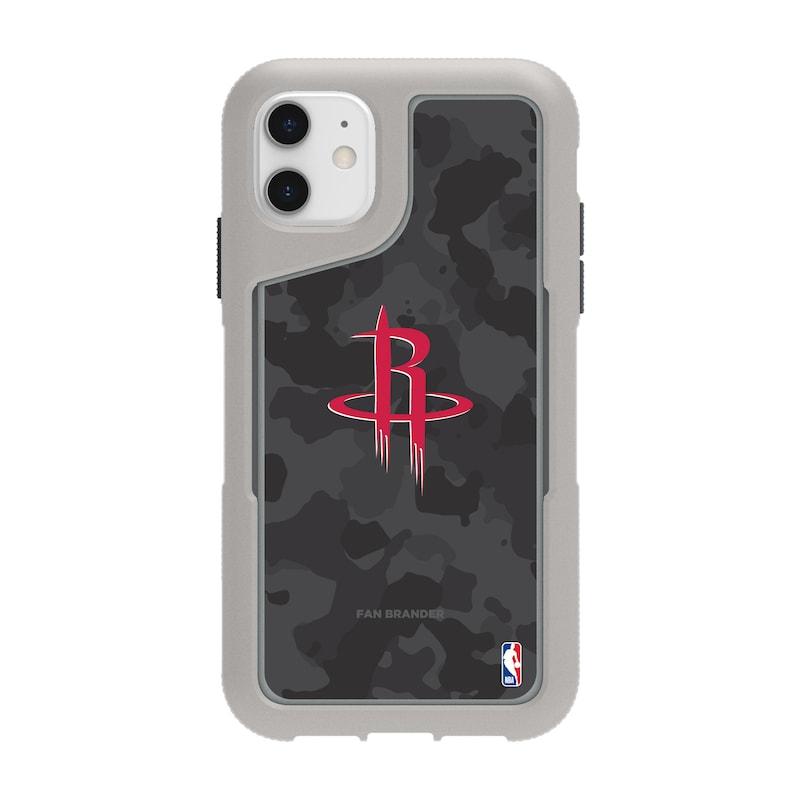 Houston Rockets Griffin Survivor Endurance Camo iPhone Case - Gray
