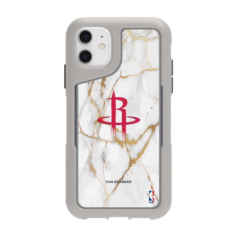 Houston Rockets Griffin Survivor Endurance Marble iPhone Case - Gray