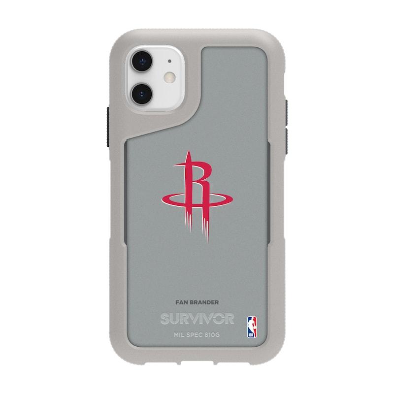 Houston Rockets Griffin Survivor Endurance iPhone Case - Gray