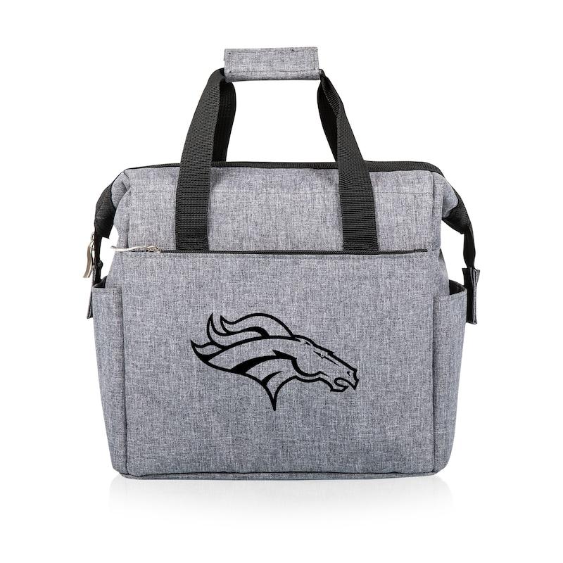 Denver Broncos Lunch Cooler - Gray