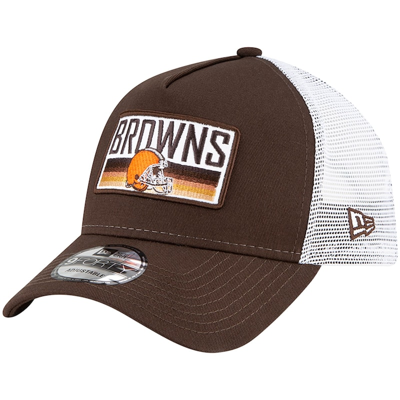 Cleveland Browns New Era Cruiser 9FORTY Snapback Hat - Brown