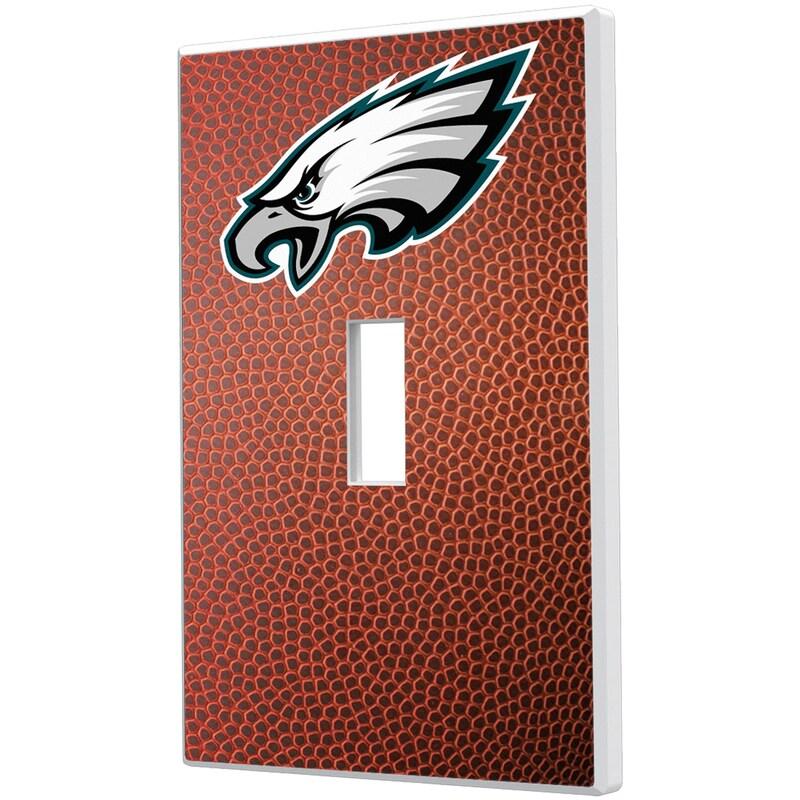Philadelphia Eagles Football Design Single Toggle Light Switch Plate