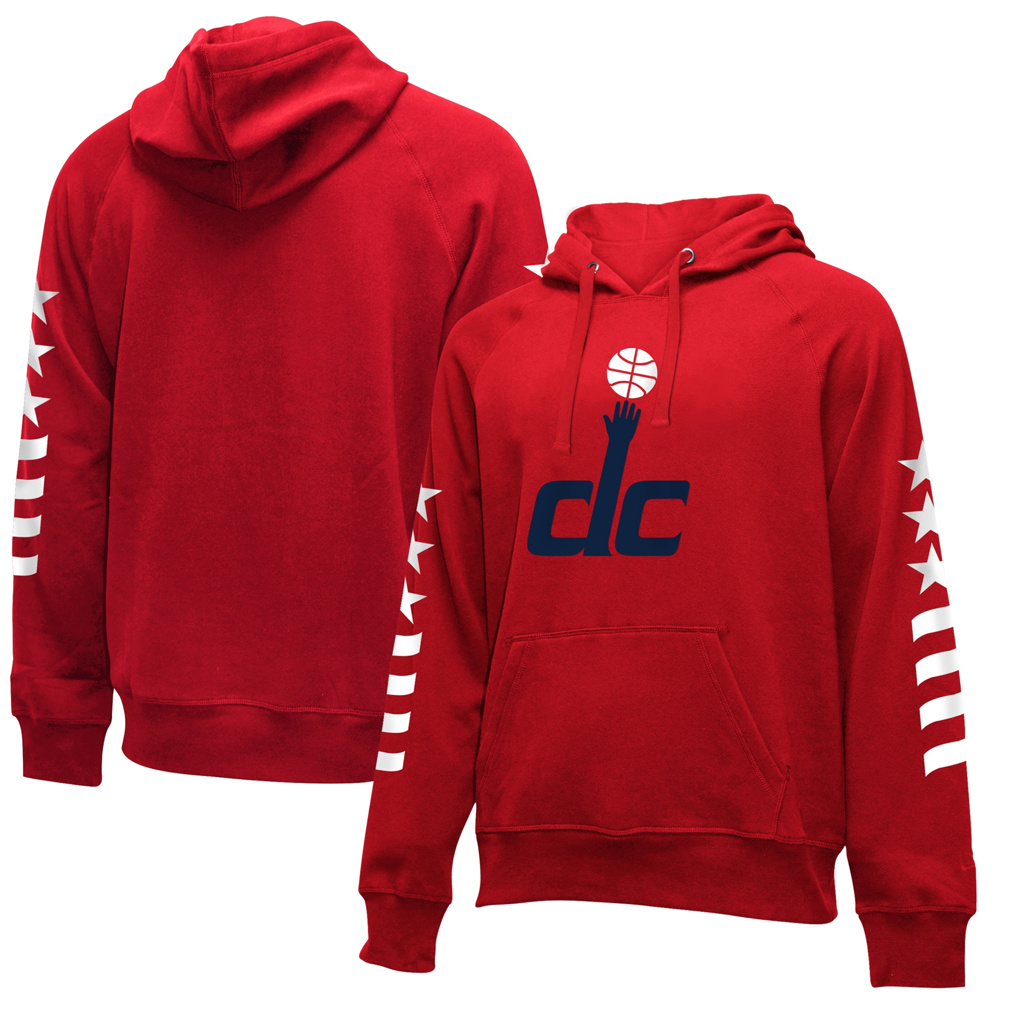 Washington Wizards New Era 2019/20 City Edition Pullover Hoodie - Red