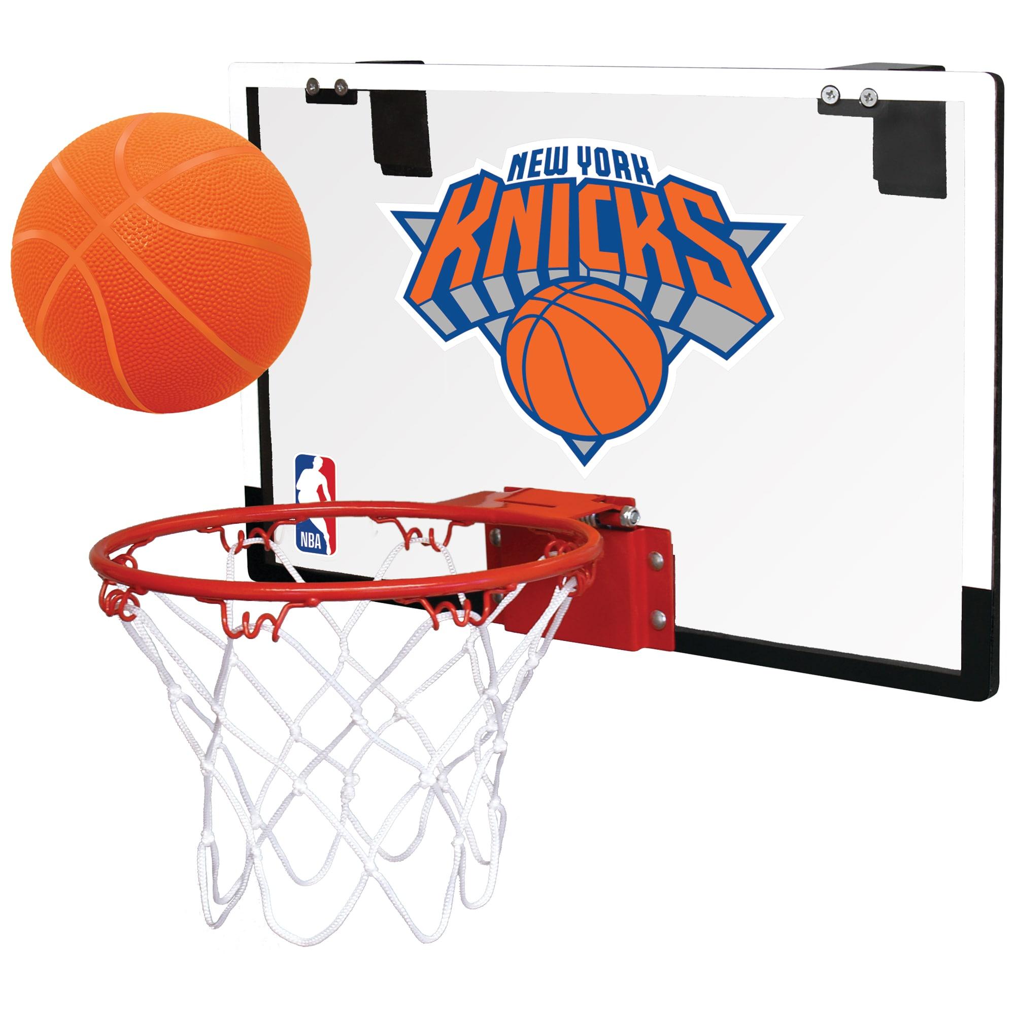 New York Knicks Rawlings NBA Polycarbonate Hoop Set
