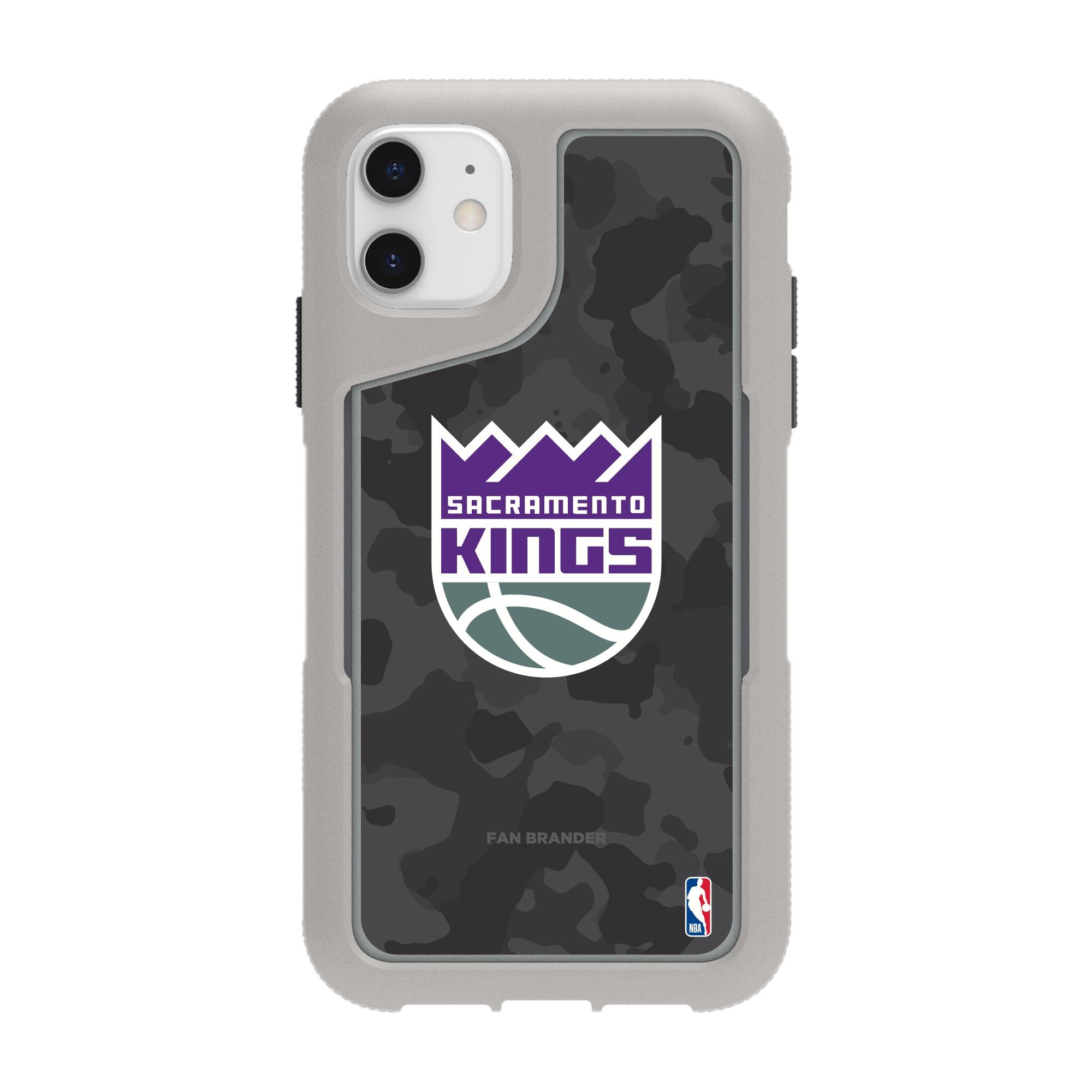 Sacramento Kings Griffin Survivor Endurance Camo iPhone Case - Gray