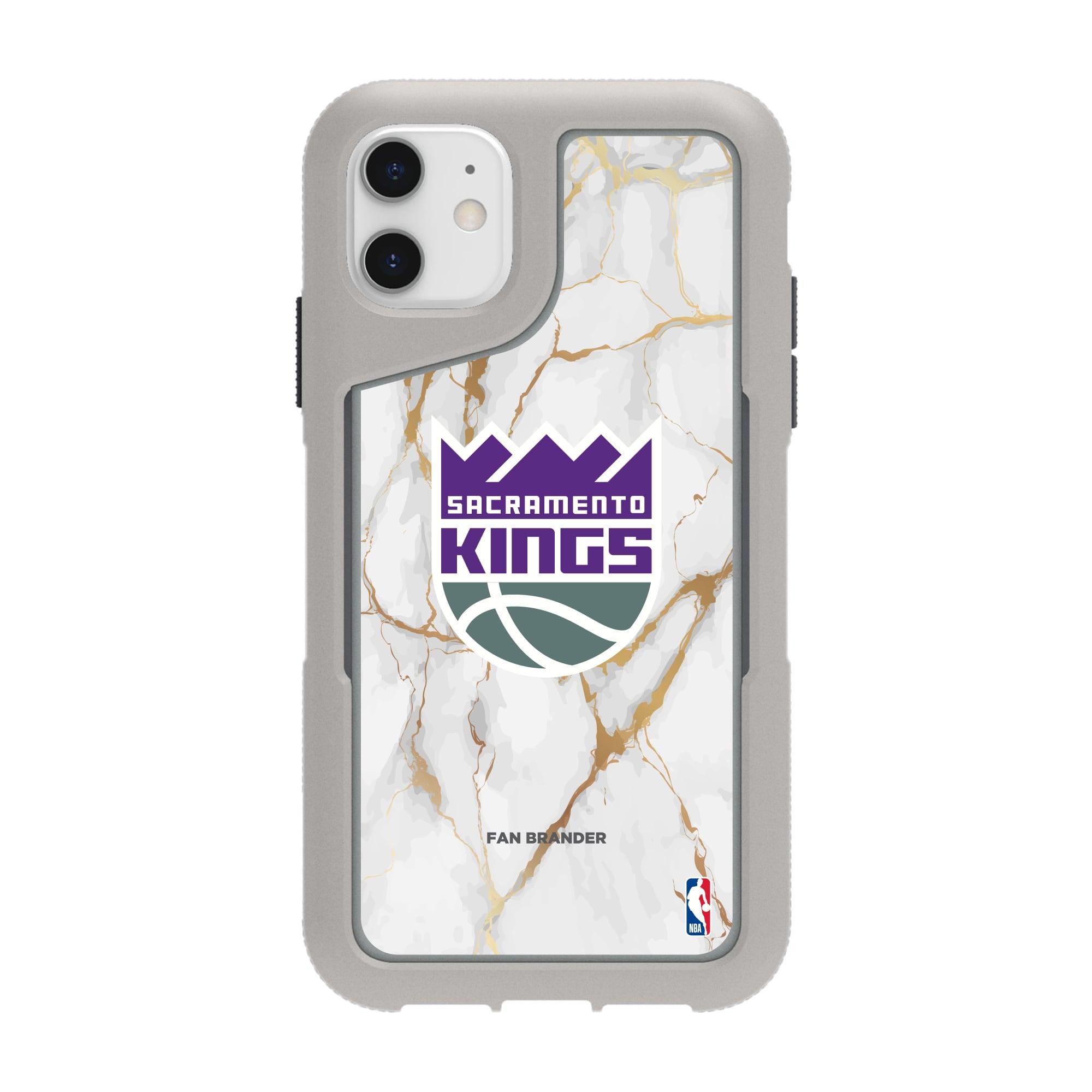 Sacramento Kings Griffin Survivor Endurance Marble iPhone Case - Gray