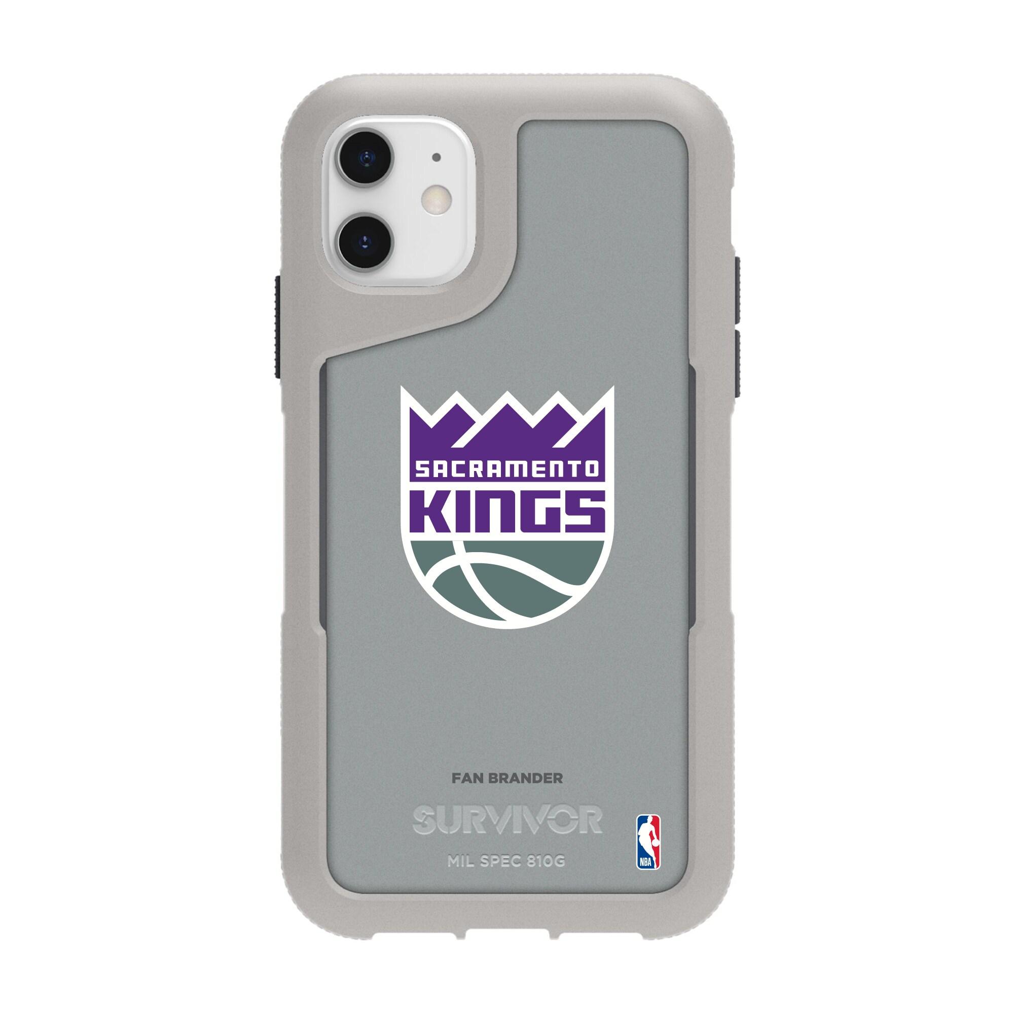 Sacramento Kings Griffin Survivor Endurance iPhone Case - Gray
