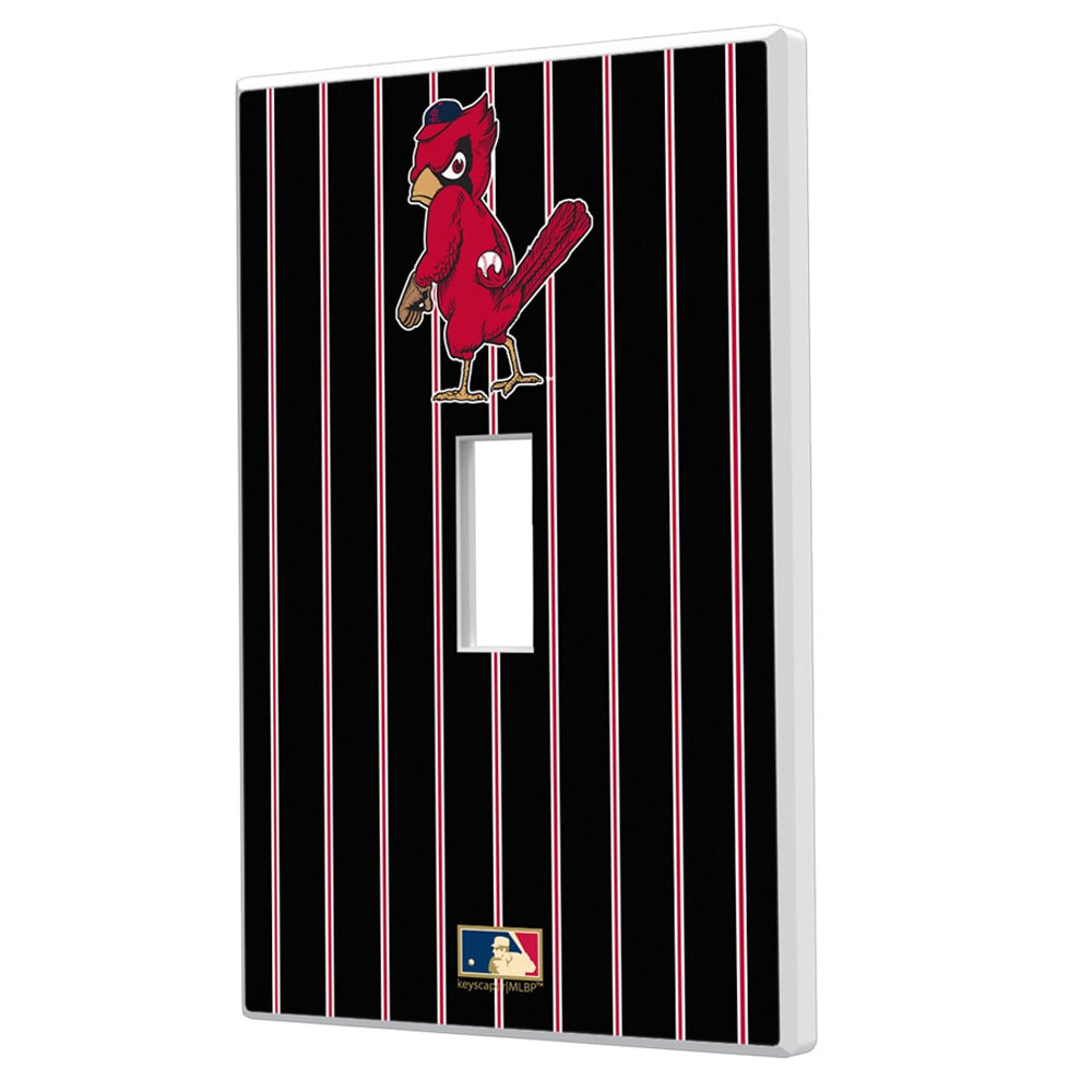 St. Louis Cardinals 1950 Cooperstown Pinstripe Single Toggle Light Switch Plate