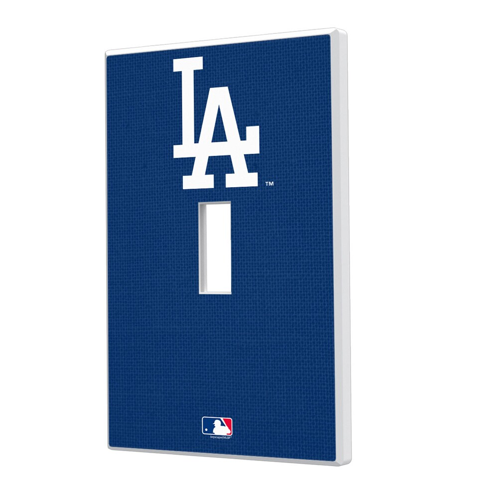 Los Angeles Dodgers Solid Single Toggle Light Switch Plate