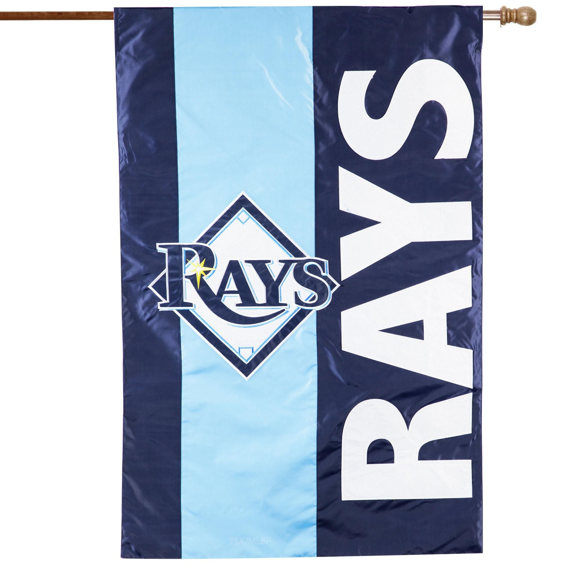 Tampa Bay Rays 28'' x 44'' Embellish House Flag
