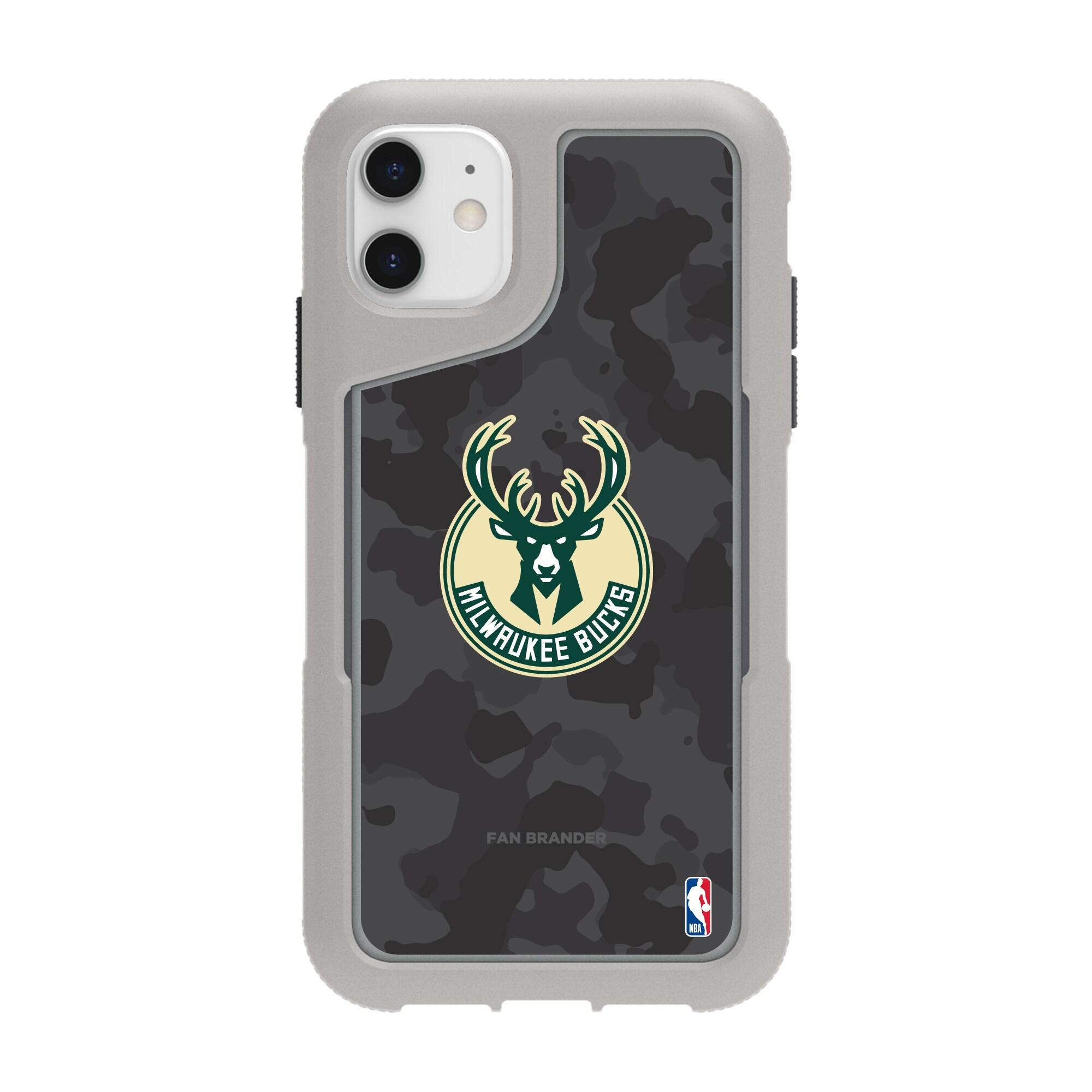 Milwaukee Bucks Griffin Survivor Endurance Camo iPhone Case - Gray