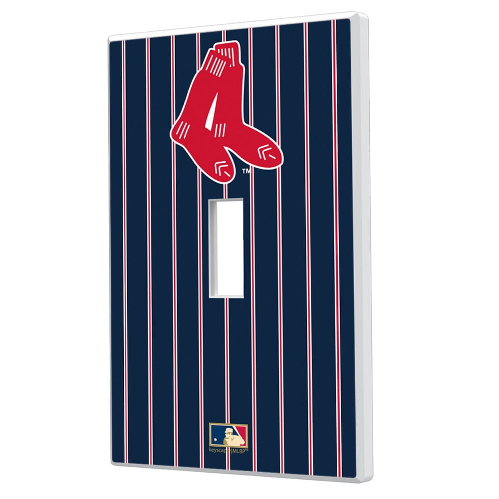 Boston Red Sox 1924-1960 Cooperstown Pinstripe Single Toggle Light Switch Plate