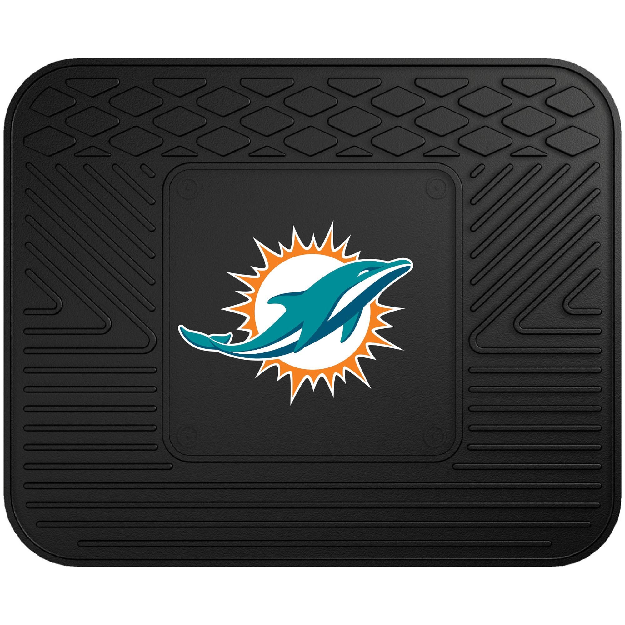 """Miami Dolphins 17"""" x 14"""" Utility Mat"""
