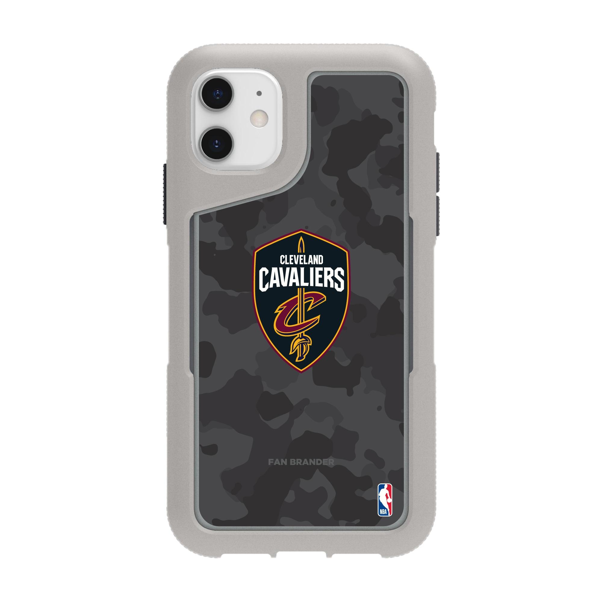 Cleveland Cavaliers Griffin Survivor Endurance Camo iPhone Case - Gray