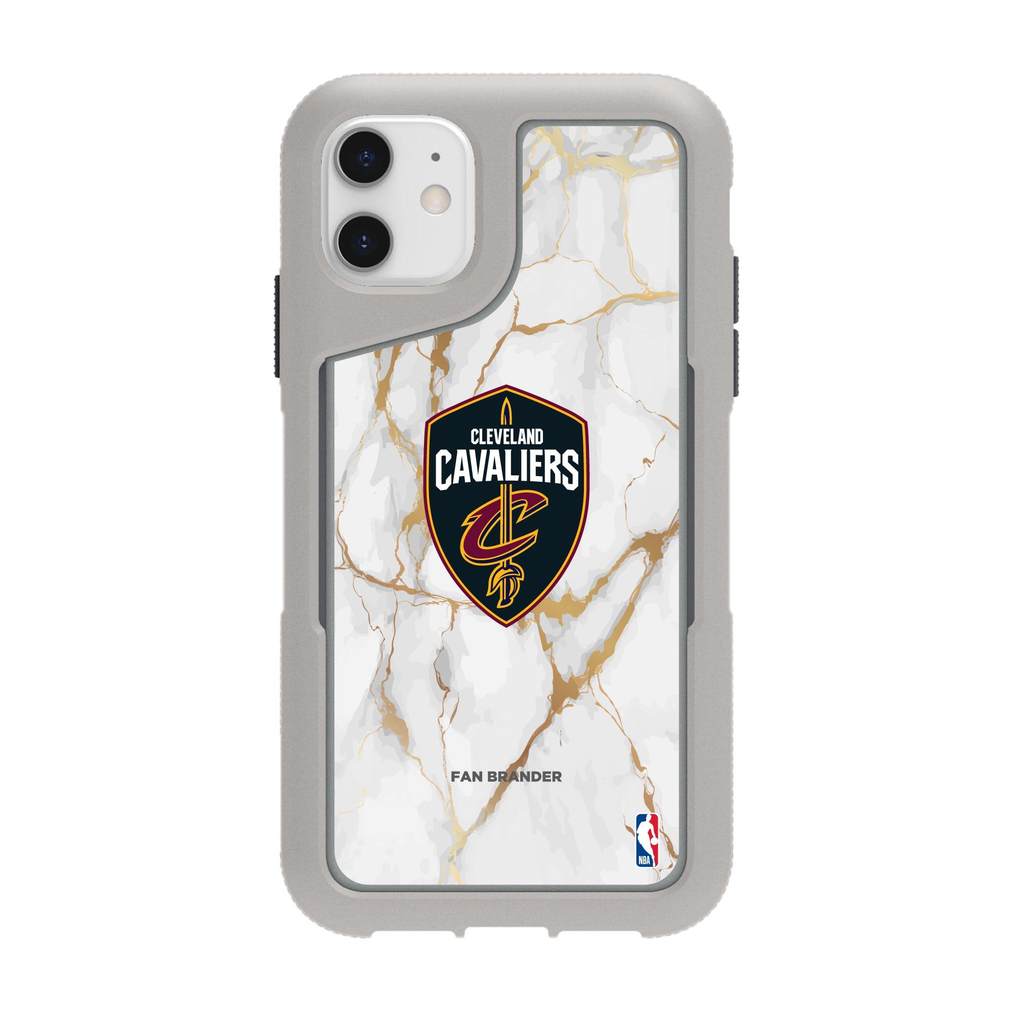 Cleveland Cavaliers Griffin Survivor Endurance Marble iPhone Case - Gray
