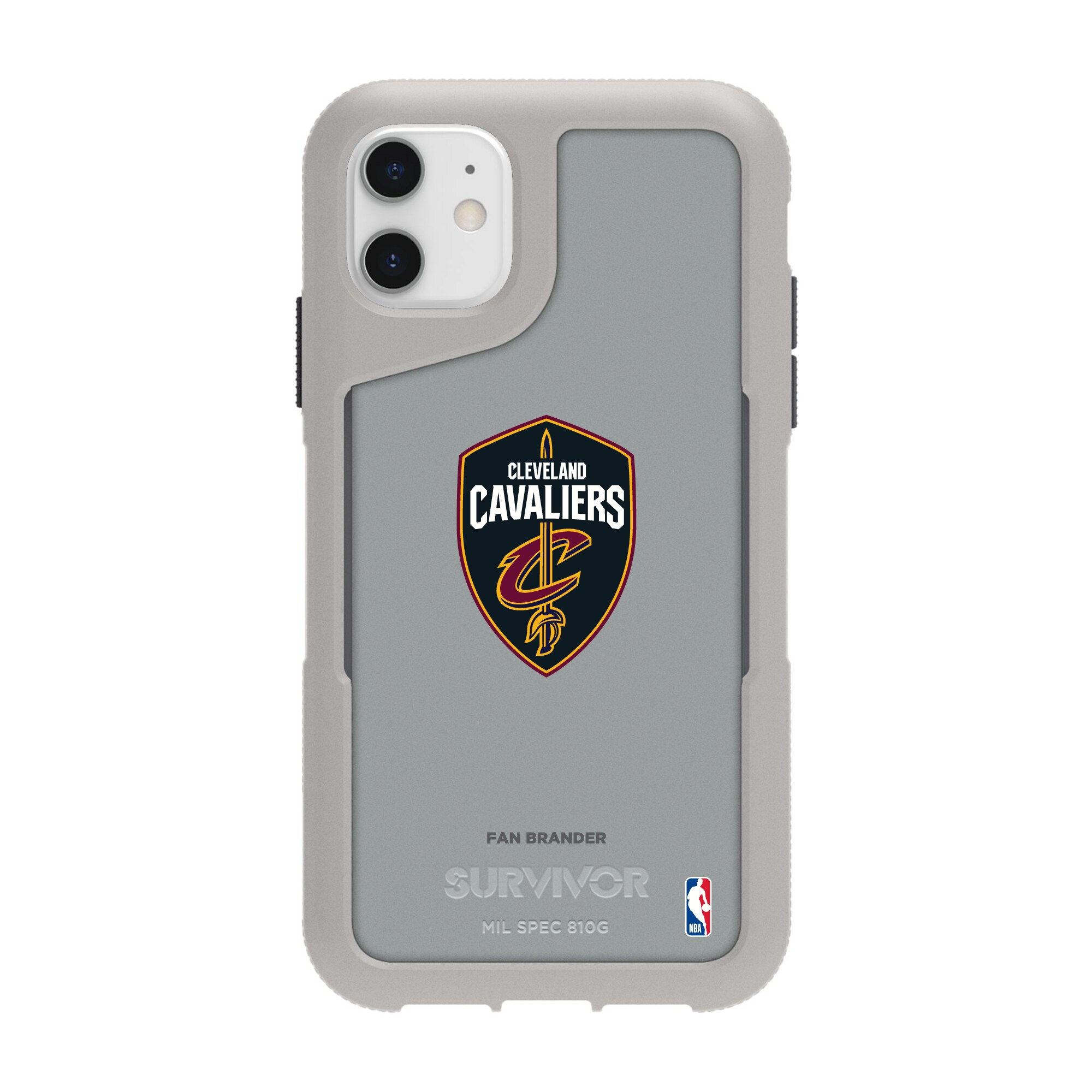 Cleveland Cavaliers Griffin Survivor Endurance iPhone Case - Gray