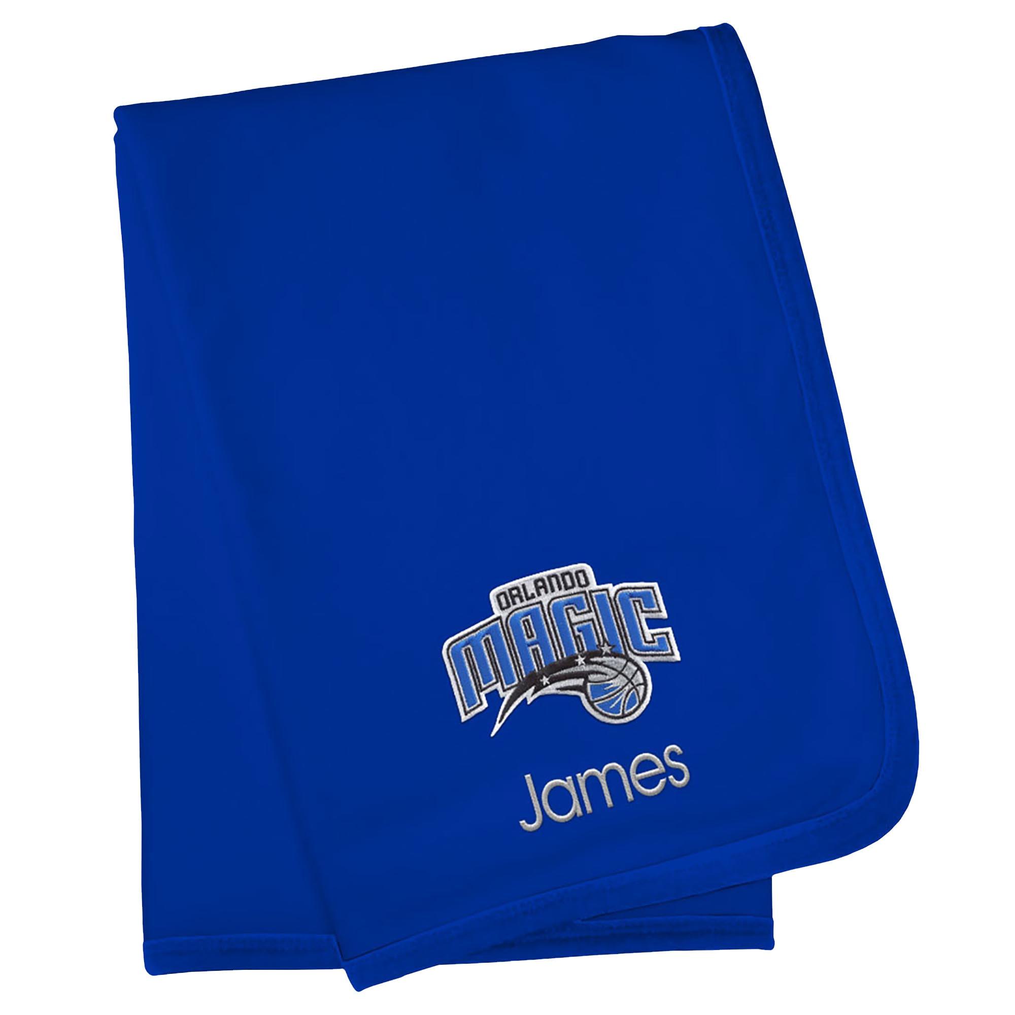 Orlando Magic Infant Personalized Blanket - Royal
